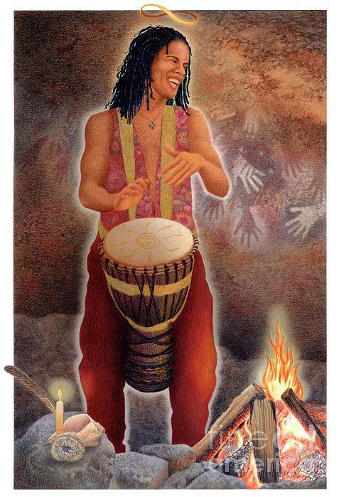 the magician 07 (gaian tarot)