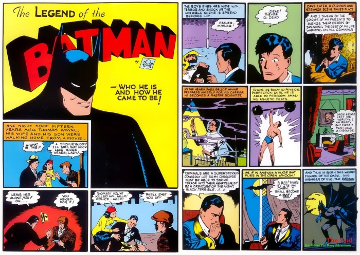 The Legend Of The Batman: Who He Is And How He Came To Be. Published by DC Comics.