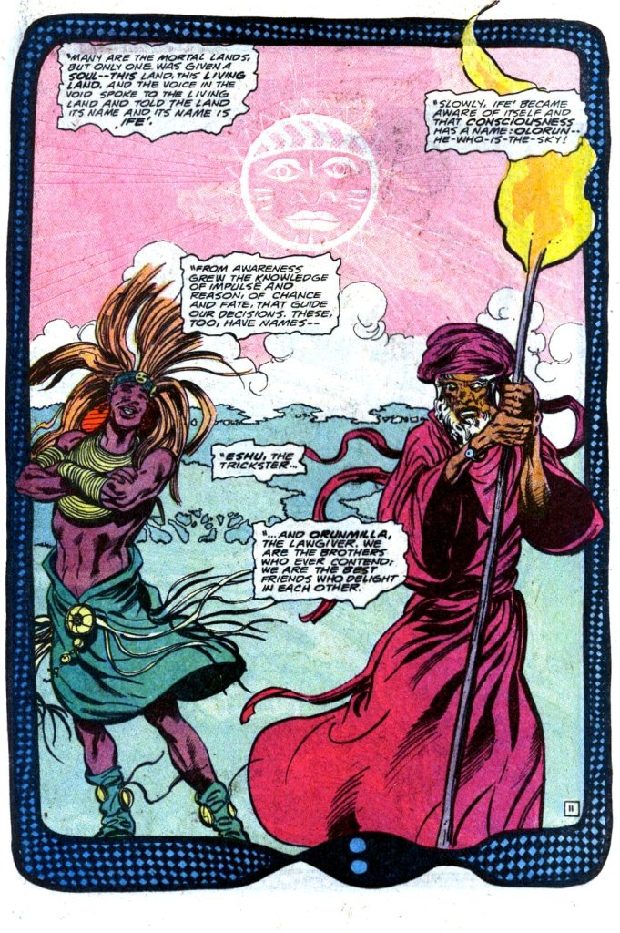"""Fury of Firestorm"". Written by John Ostrander, with art by Tom Mandrake. Published by DC Comics"