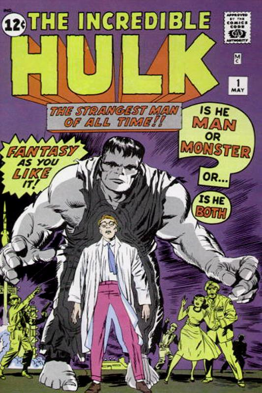 The Incredible Hulk #1. Published by Marvel Comics