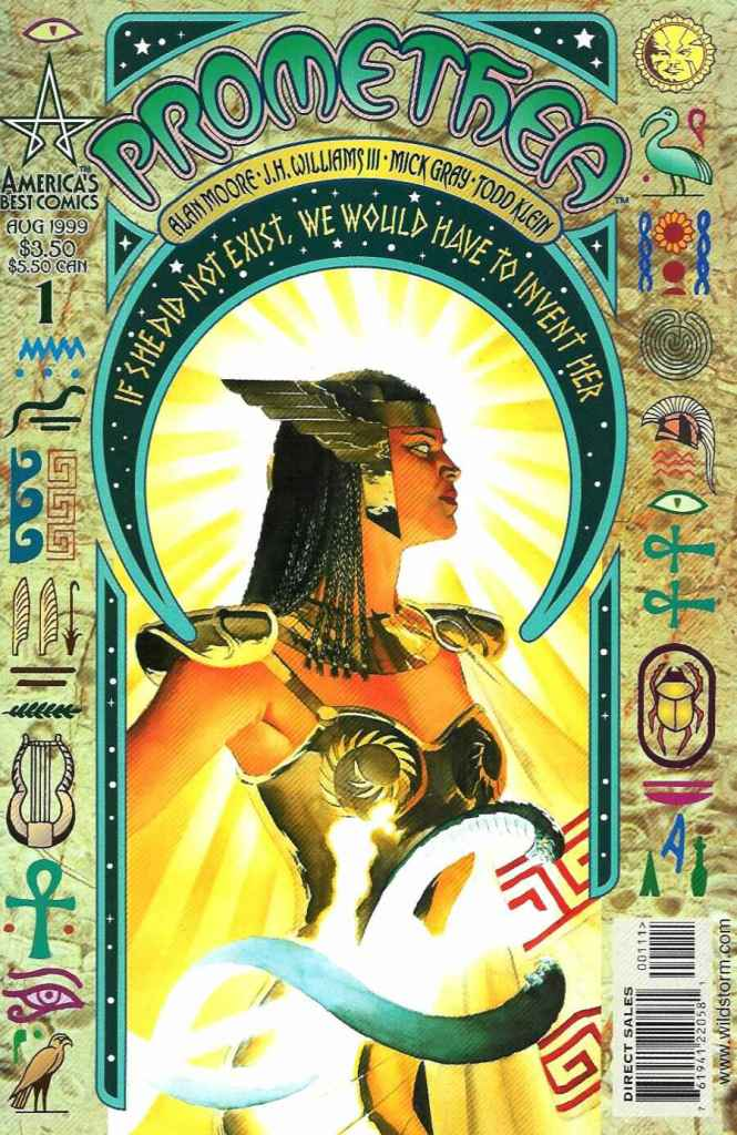 Promethea #1. By Alan Moore and J. H. Williams III